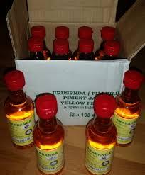 Akabanga-12er-Paket - Piri-Piri Chiliöl