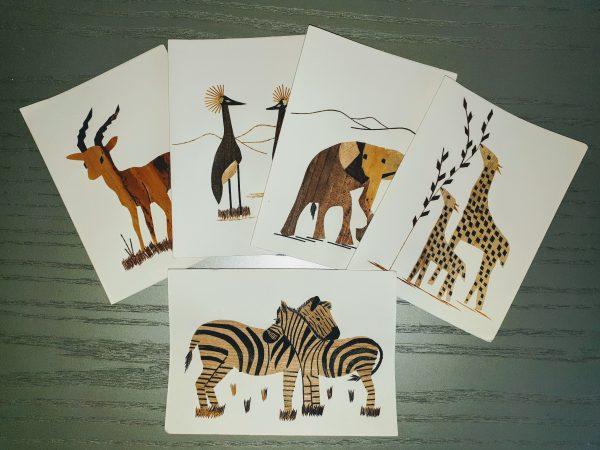 Tierpostkarten
